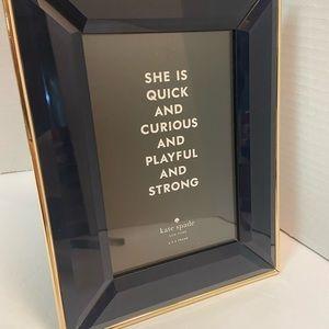 Kate Spade Charles Lane Indigo picture frame.